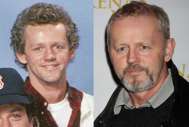 David Morse as Dr. Jack Morrison on St. Elsewhere in 1983 and David Morse in 2009