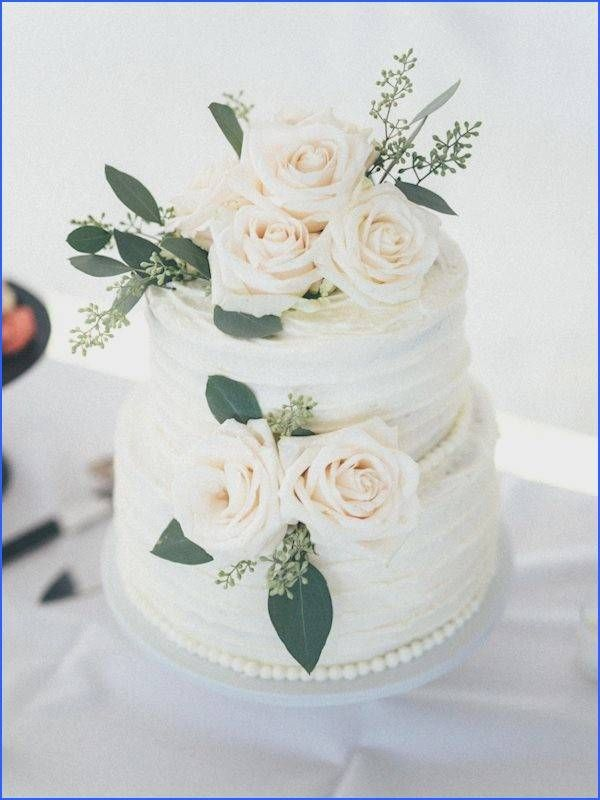 Simple 2 Tier Wedding Cakes Pictures … – Buttercream wedding cake