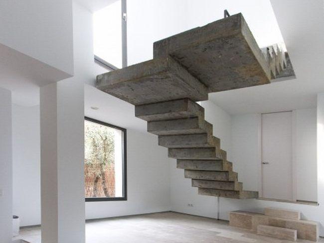 escaleras de hormigón / concreto