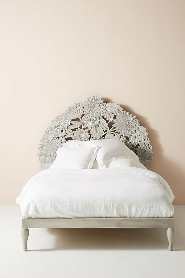 Carved Treescape Bed Anthropologie affiliate Carved