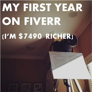 How I Earned $7490 in My First 14 Months on Fiverr (and my plans to double it)