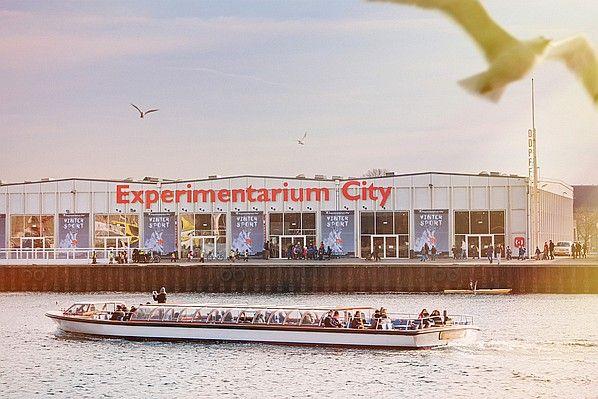 The exterior of Copenhagen's Experimentarium City. The new science museum in the city center. See more at: www.interiordesig... #interiordesignmagazine #interiordesign #design #memofrom #ExperimentariumCity #copenhagen #denmark