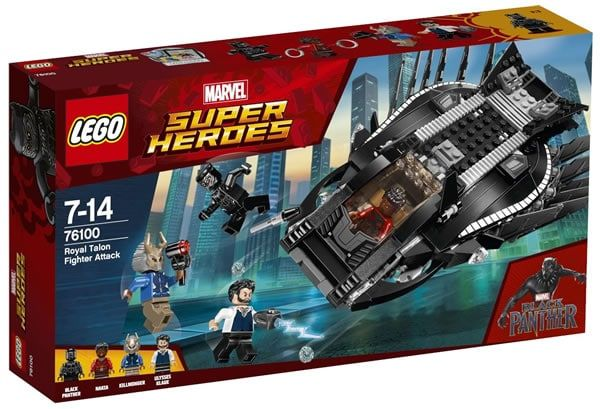 Black Panther Lego kits (potential spoilers)