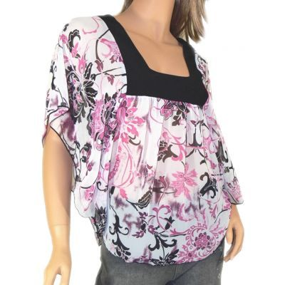 Women's Clothing :: Tops :: Batwing sleeve top - $25