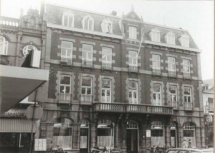 Het oude arbeidsbureau aan de Geleenstraat