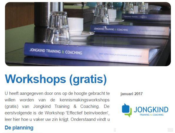 Krijg ook vaker uw zin, leer de basis tijdens de eerstvolgende workshop van Jongkind Training & Coaching 'Effectief Beinvloeden' kijk voor deze en andere workshops op: https://www.jongkind-training.nl/actueel/gratis-workshops.