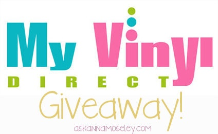 My Vinyl Direct giveaway at Ask Anna.