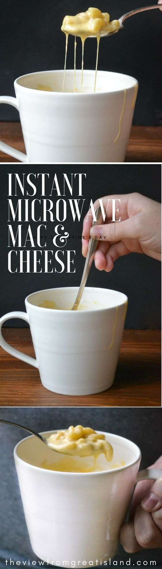 Instant Microwave Macaroni and Cheese in a Mug-IDEA ONLY