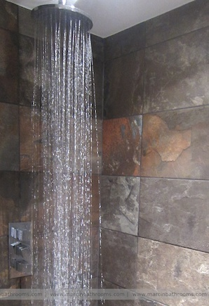 #rainshower #wetroom http://www.marcinbathrooms.com/wetrooms