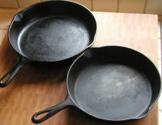 Cast-Iron Frying Pans Information