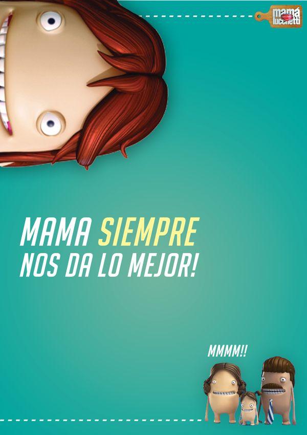 Campaña Mama Luchetti - Dia de las Madres by Tato Tortosa, via Behance