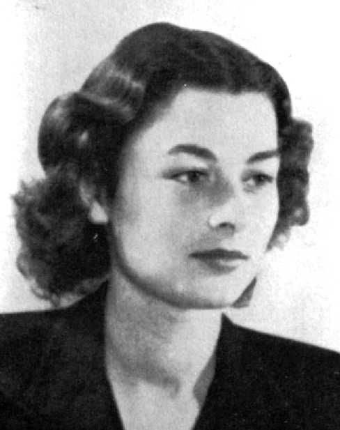 Violette Szabo,Was a Special Opertion Exec.In 1944 parachuted into German Occupied France.She reorganized a French resistance network,sabotaging road,railway & communication lines.She was captured,tortured & sent to Ravensbruck concentration camp.She managed to save Hortense Clews a Belgian resistance courier. Violette was executed & her body disposed in a crematorium. She was 23yrs old