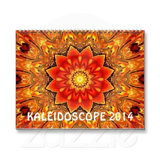 Kaleidoscope 2014 wall calendar