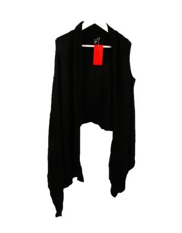 Chaleco Abierto Negro de DKNY