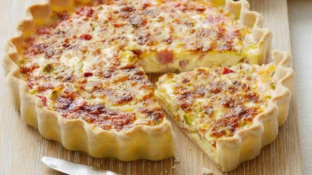 Tradičný francúzsky slaný koláč: Quiche Lorraine - Pluska.sk