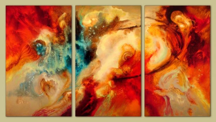 Genesis, an oil painting by Carol Elsip