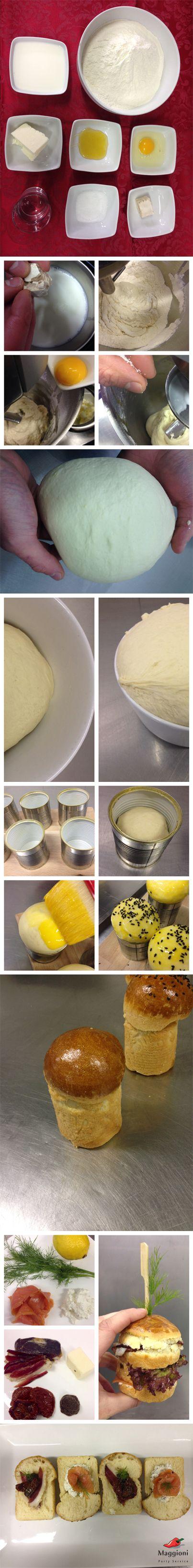 Presentate in monoporzione un classico delle feste: mini-panettoni gastronomici! Il trucco: usate per la cottura le latte delle verdure a vapore!