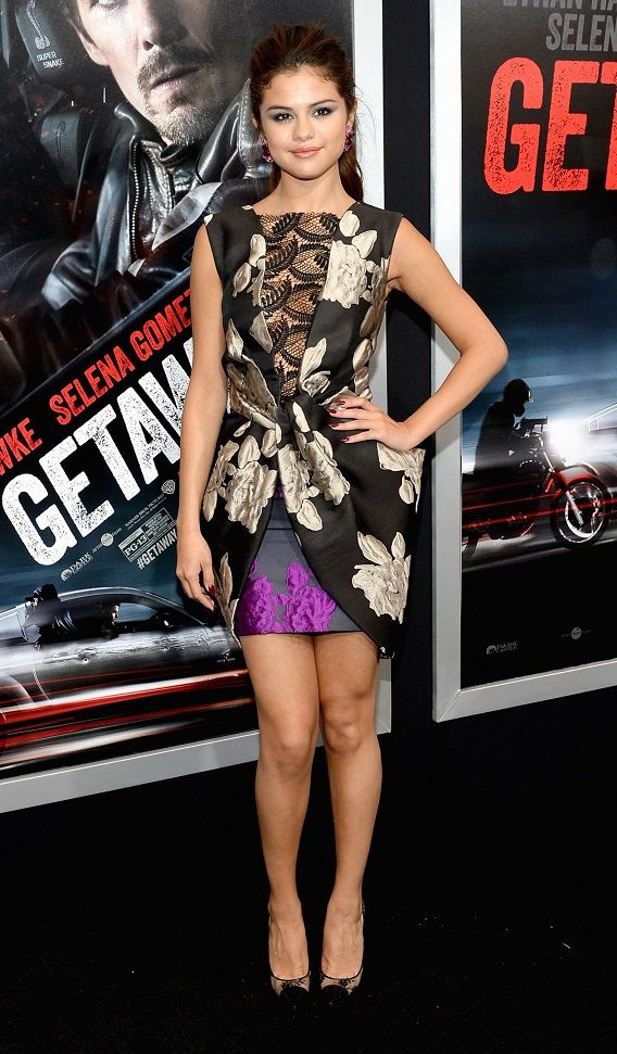 "L'opinion de MyMy .. The No Feminist Blog: Selena Gomez à la première de ""Getaway"" à Los Angeles - 26.08.2013"