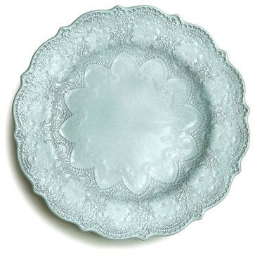 Marletto Aqua Dinner Plate transitional-dinner-plates