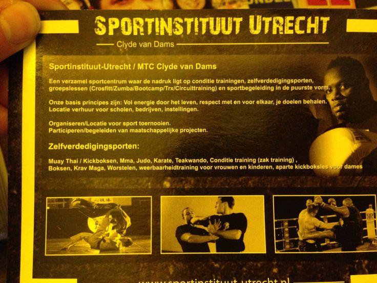 Sportinstituut Utrecht - Clyde van Dams