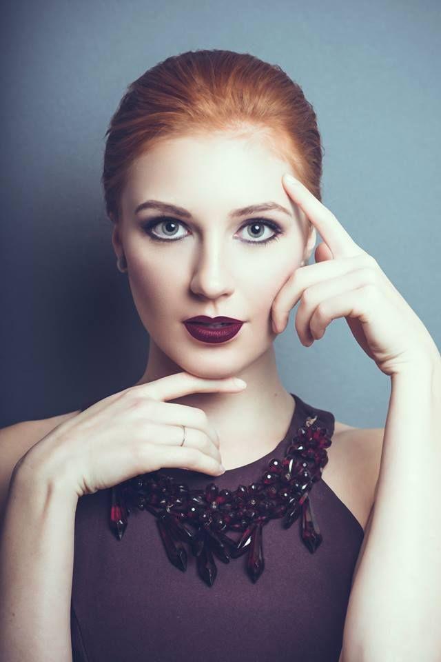 Facial proportions #Redhead #Model #Beauty #Make up