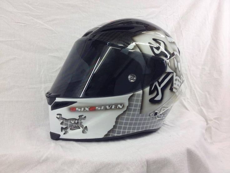 Guy Martin's PP Helmet