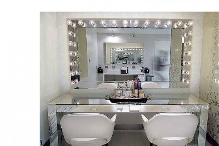 Gallery For Vanity Lighted Mirror