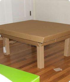 Мебель из картона своими руками, ее формы и характеристики. Как мастерить советуют профессионалы.