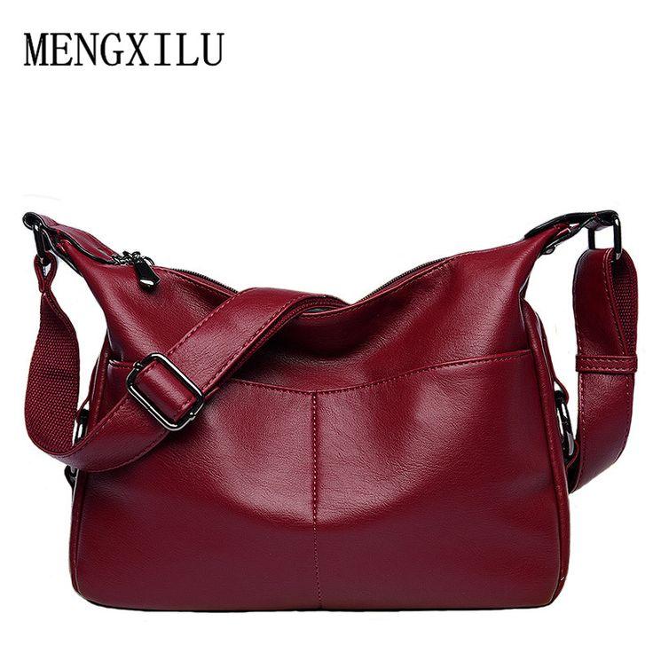 Women leather handbag female casual totes ladies shoulder bag design zipper pu hobos women bag messenger bags bolsa feminina