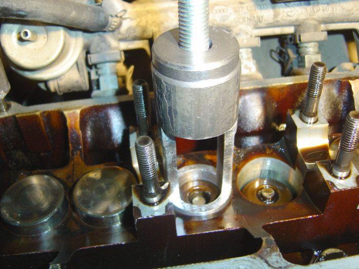 Extractor de valvulas casero