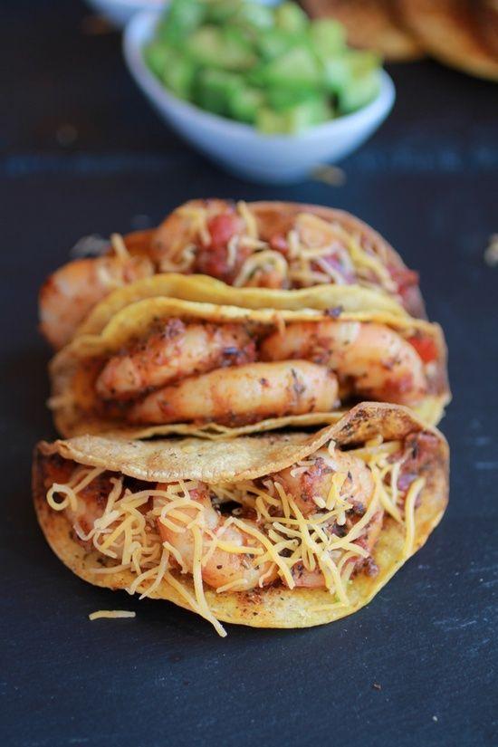 Cajun Shrimp Tacos with homemade Hard Taco Shell's | Shrimp Tacos ...