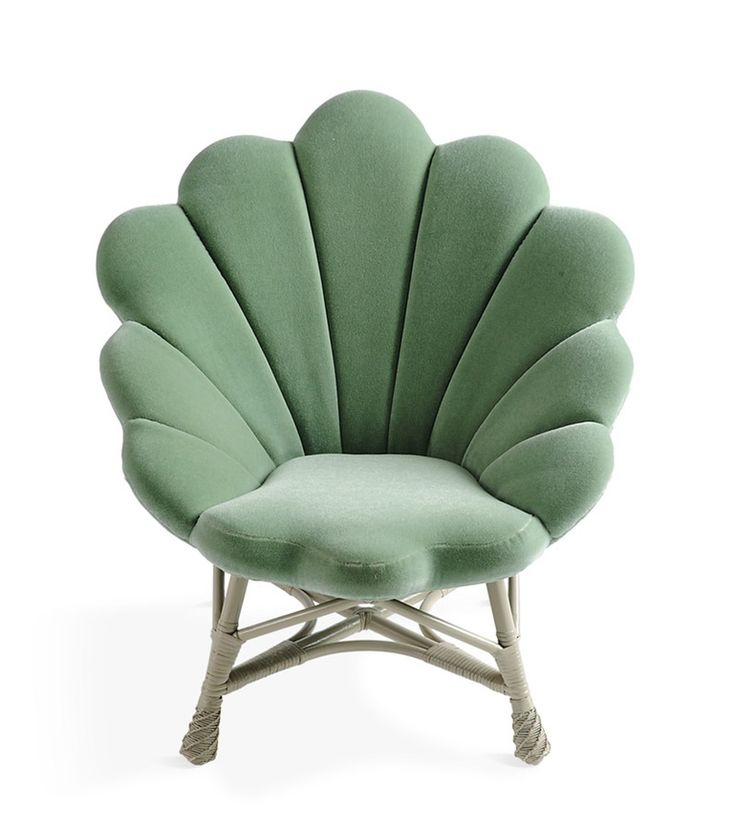 The Upholstered Venus Chair   Transitional, Rustic  Folk, Upholstery  Fabric, Natural Material, Armchair by Soane Britain