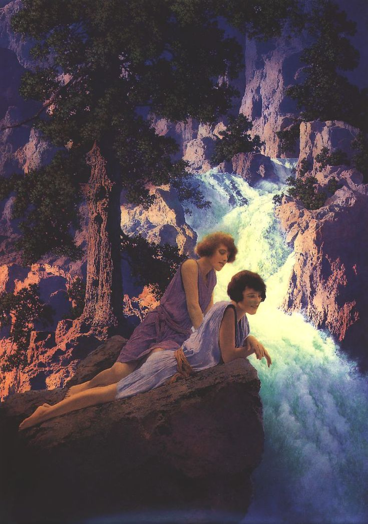 Максфилд Пэрриш (Maxfield Parrish). | art and soul project
