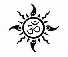 OM-Sun tattoo by DeSi-PriNcE