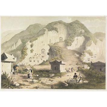 Telmessus; Lycia, Caria, Lydia (Lithograph) Sir George Scharf 1847