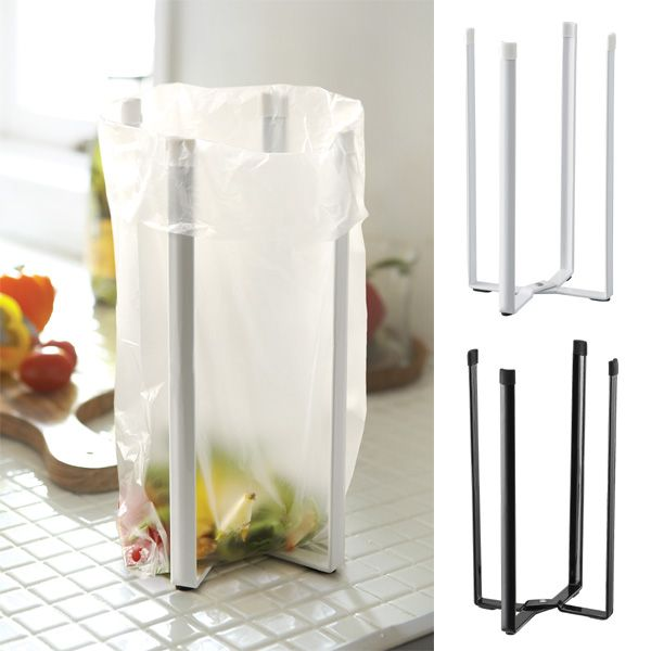 Plastic Bag Holder Kitchen Holder Panasonic Trash Bin Recycle Bin Recycle  Sealing Trash Bag Stand Trash