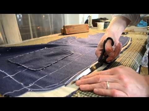 The Making of a Coat #23   Shaping the Foreparts, Pt 1 - YouTube