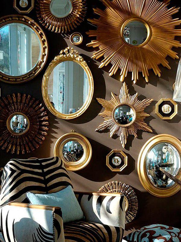 Espejos de sol: magia vintage