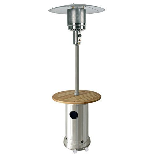 az patio heaters 87 hammered silver patio heater - Patio Heating Ideas