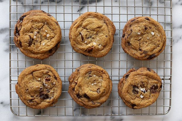 The Best Brown Butter Chocolate Chip Cookies : Joy the Baker says these are the best, and I believe her (especially after seeing the ingredients)!