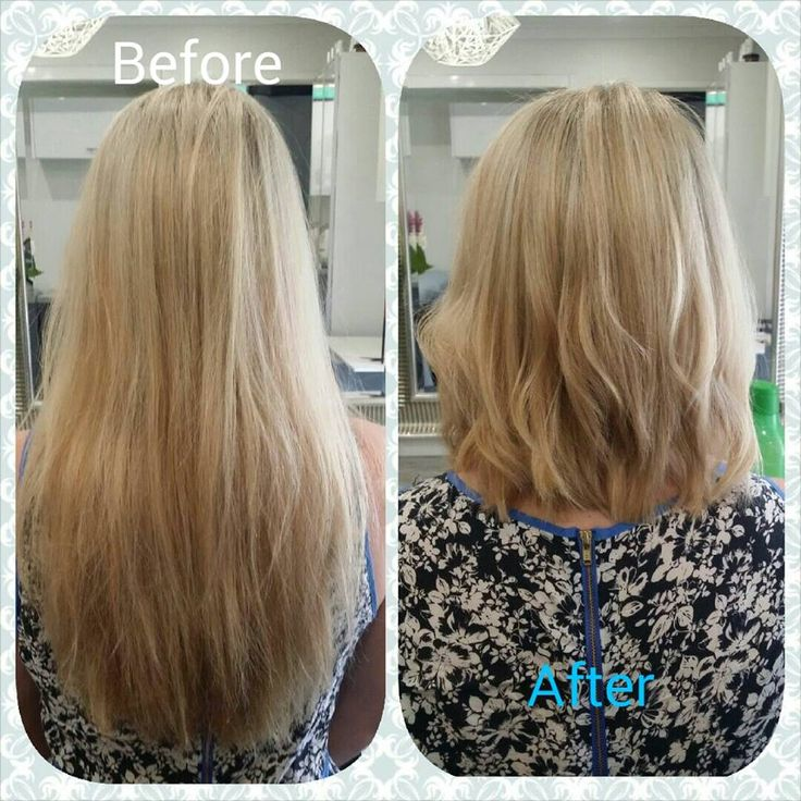 Full Head Blonde Foils And A Big Restyle Balayage Colour