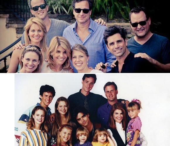Las gemelas Olsen, grandes ausentes en el reencuentro de los actores de la serie 'Padres Forzosos'