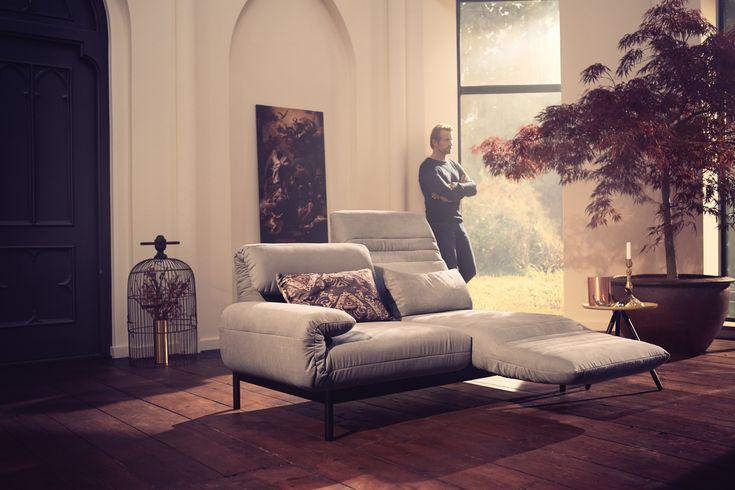 Always different, always Ideal: the Rolf Benz PLURA sofa line. Rolf Benz Studio, Boston, MA