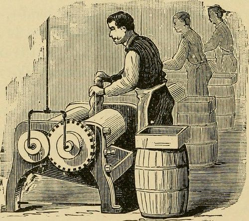"""(Posted from injectionmouldchina.com)  Some cool mould manufacturing factory images: Image from page 47 of """"Rubber hand stamps and the manipulation of rubber; a practical treatise on the manufacture of India rubber hand stamps, small articles of India rubber, the hektograph, special inks, cements, and allied subjects""""...  Read more on http://www.injectionmouldchina.com/cool-mould-manufacturing-factory-images-2/"""