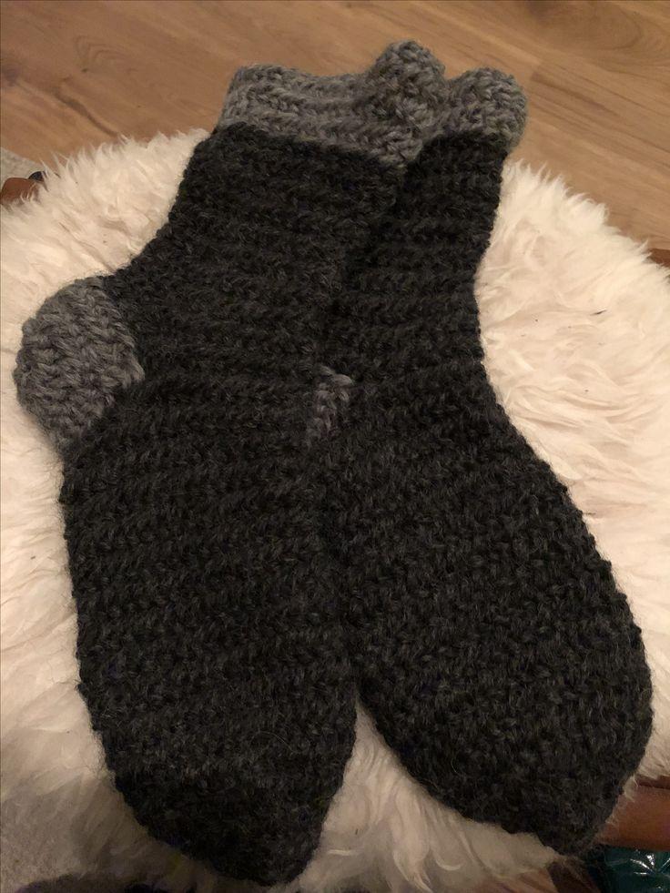 Nålbindet sokker