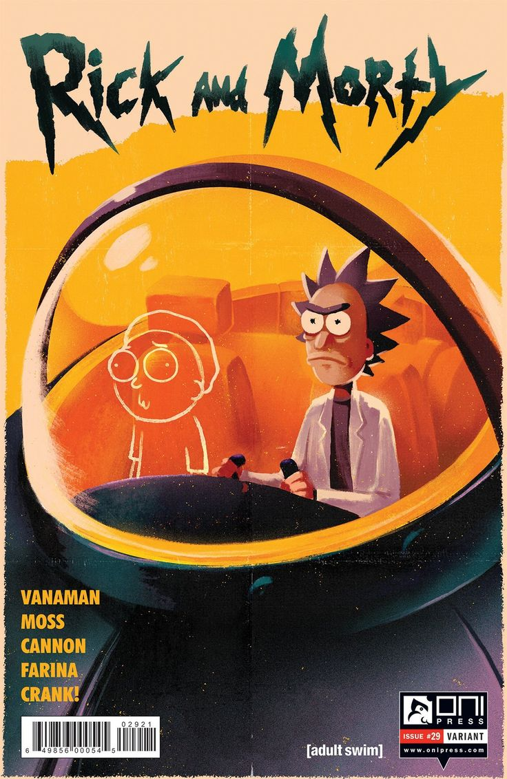 "syntheticsloth: ""RICK AND MORTY #29 SEAN VANAMAN, OLLY MOSS (W) • CJ CANNON (A/CA) • KATY FARINA (C/CA) ALTERNATE COVER ILLUSTRATED BY OLLY MOSS (@ollymoss) • SPECIAL ONE-SHOT written by Sean Vanaman of Campo Santo (the developer of the hit game..."