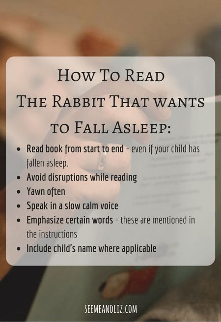 The best Bedtime story books for children - The rabbit who wants to fall asleep is the winner!