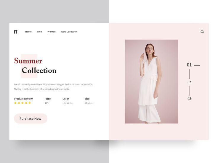 Landing Pages Fashion Web Design In 2020 Fashion Web Design Clothing Websites Clothes Layout