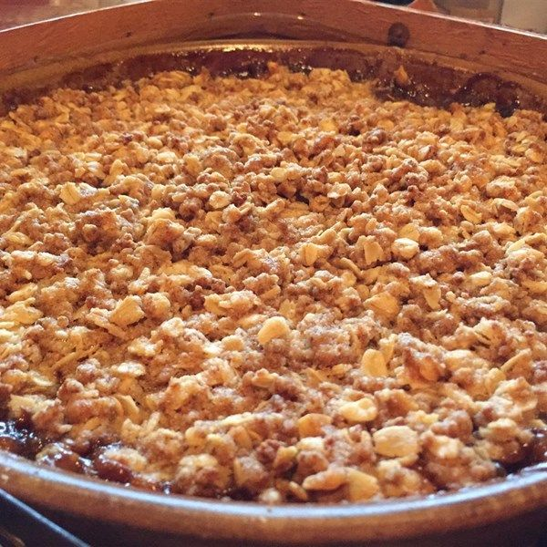 "Crispiest Apple Crisp | ""Excellent apple crisp!!"""