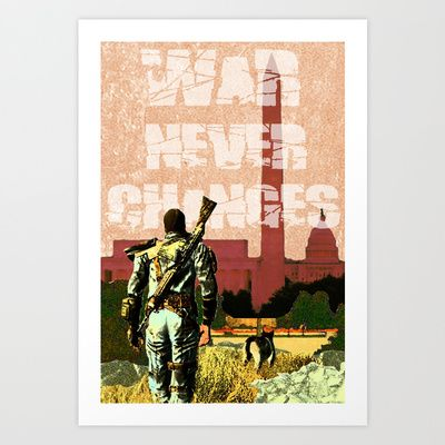Fallout 3 Art Print by Dayle Kornely - $13.75
